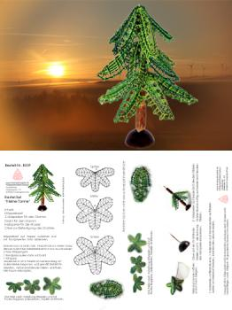 "259 Bastelset ""Tannenbaum""  in 3D-Optik"